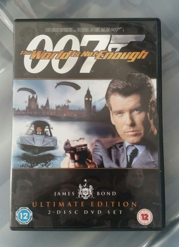 007 The World Is Not Enough (DVD, 2006, 2-Disc Set) USED